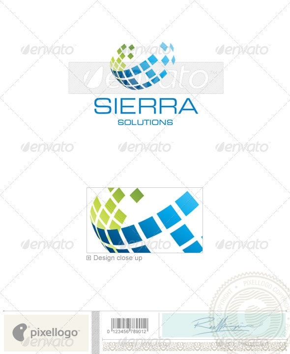 Business & Finance Logo - 1906 - Vector Abstract