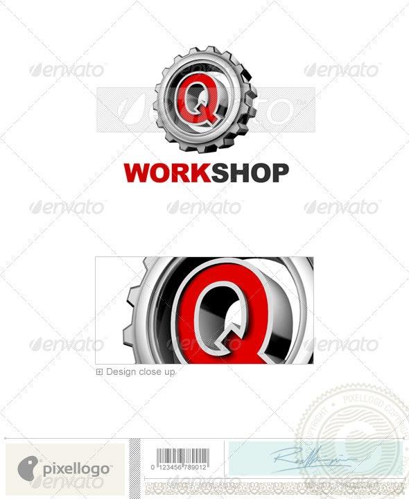Q Logo - 3D-292-Q - Letters Logo Templates