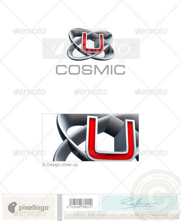 U Logo - 3D-348-U - Letters Logo Templates