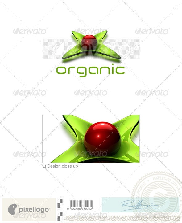 Nature & Animals Logo - 3D-230 - Nature Logo Templates