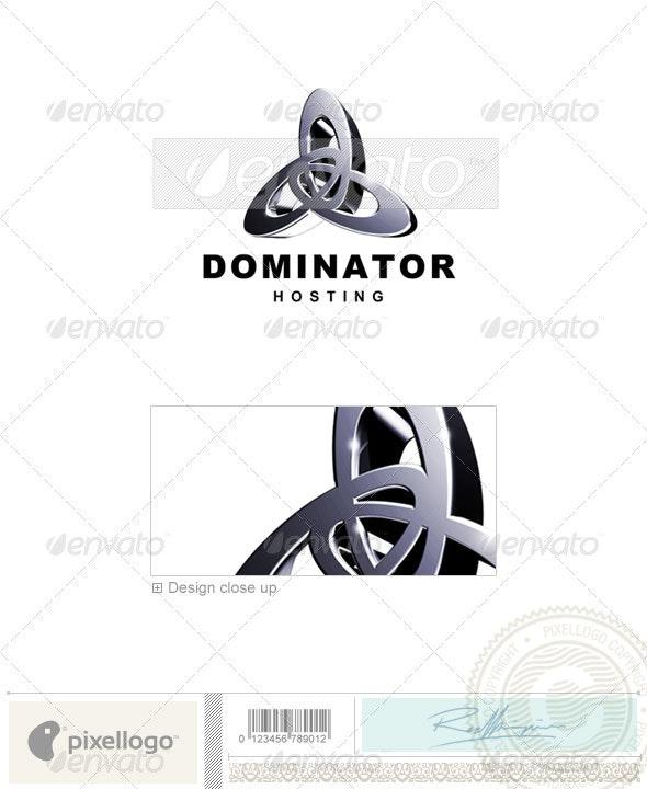 Technology Logo - 3D-74 - 3d Abstract