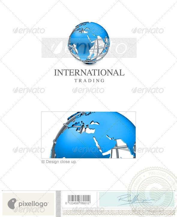 Communications Logo - 3D-422 - 3d Abstract