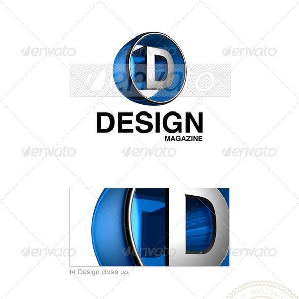D Logo - 3D-438-D