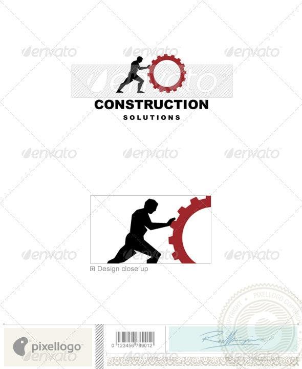 Home & Office Logo - 1799 - Humans Logo Templates