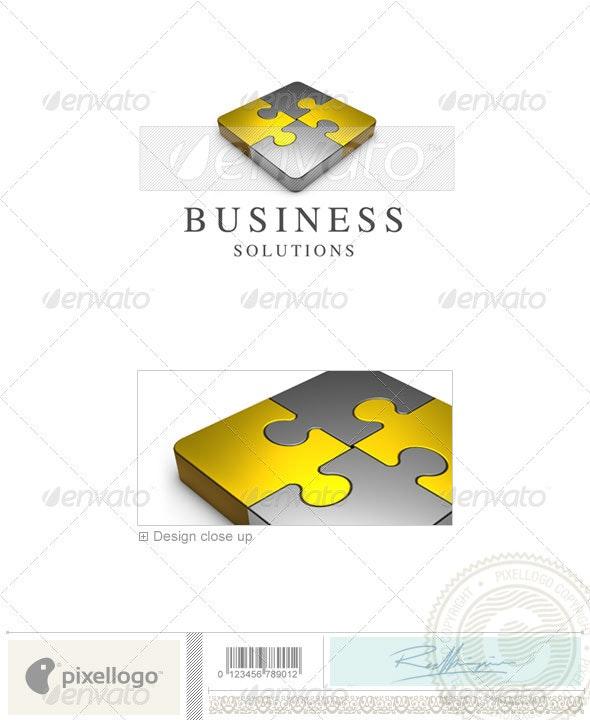 Business & Finance Logo - 3D-362 - 3d Abstract
