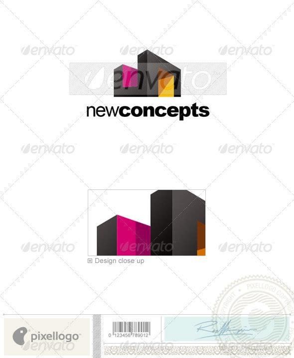 Home & Office Logo - 2210 - Buildings Logo Templates