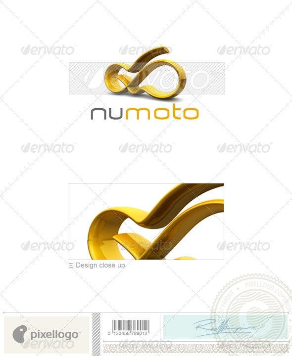 Technology Logo - 3D-314 - 3d Abstract