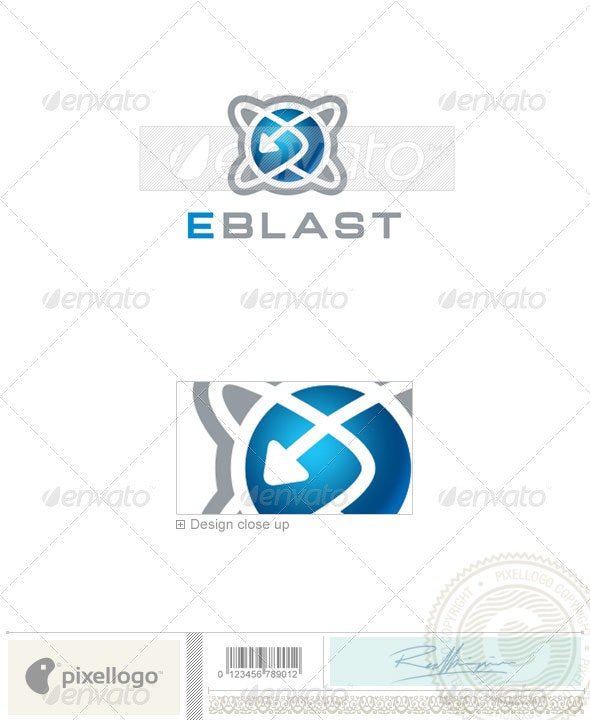 Communications Logo - 504 - Vector Abstract