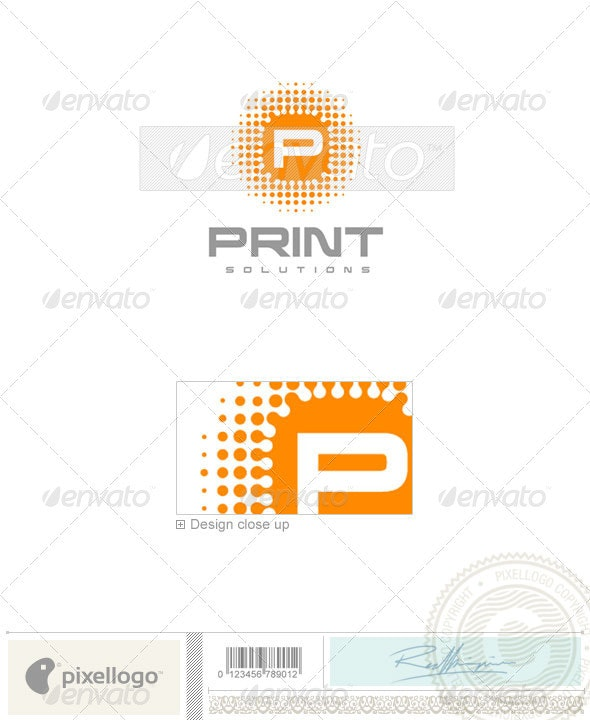 Print & Design Logo - 469 - Letters Logo Templates