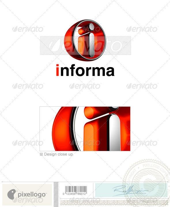 I Logo - 3D-438-I - Letters Logo Templates