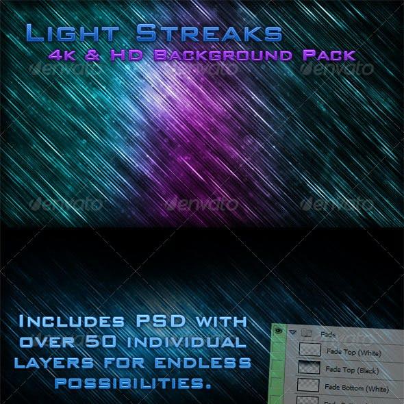 Light Strands - Customizable 4K & HD Background