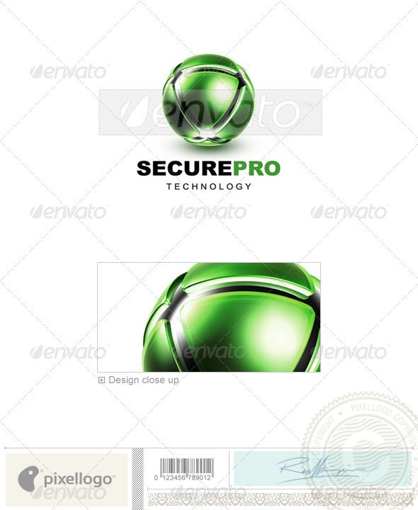 Communications Logo - 3D-457 - 3d Abstract