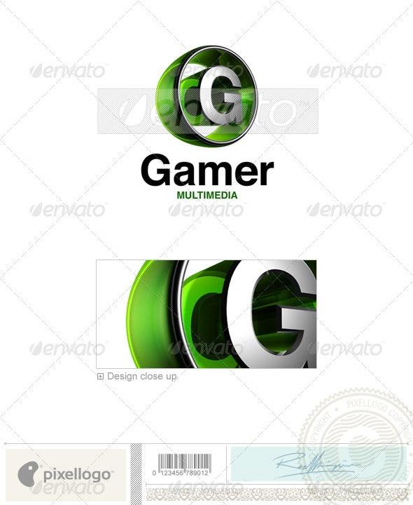 G Logo - 3D-438-G - Letters Logo Templates