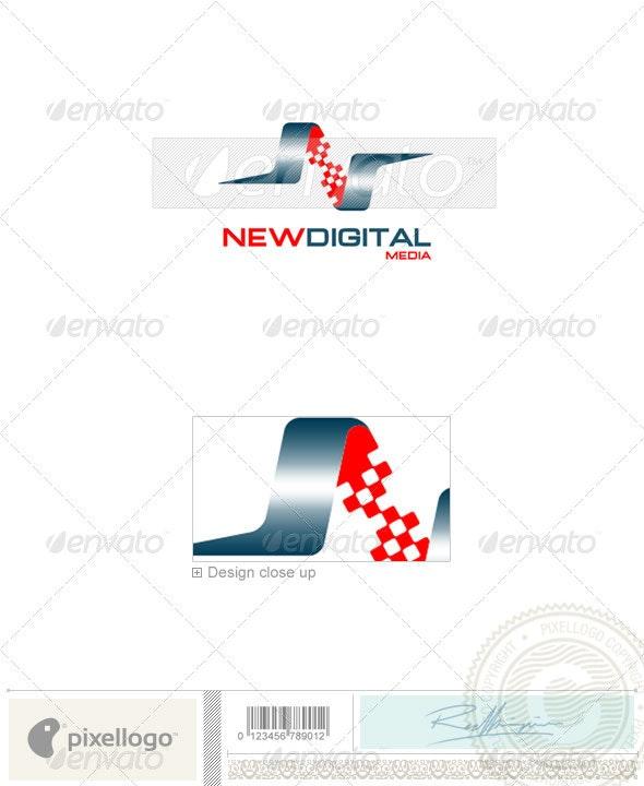 Print & Design Logo - 1053 - Vector Abstract