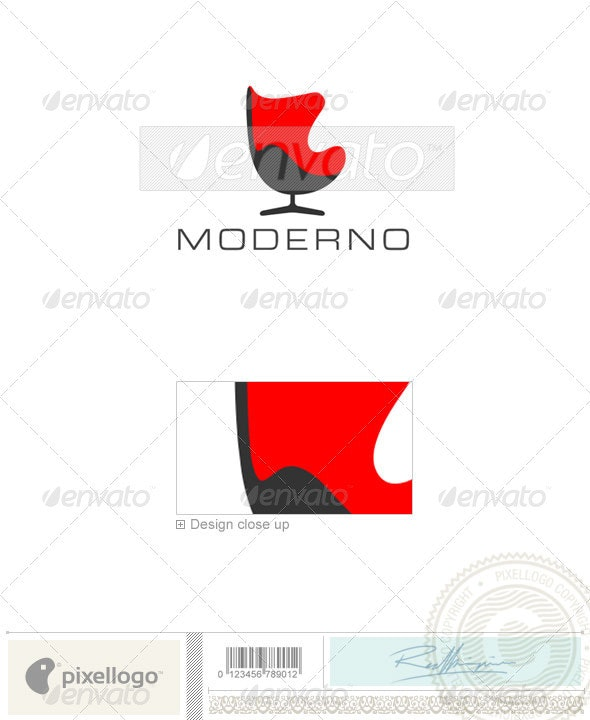 Home & Office Logo - 414 - Objects Logo Templates