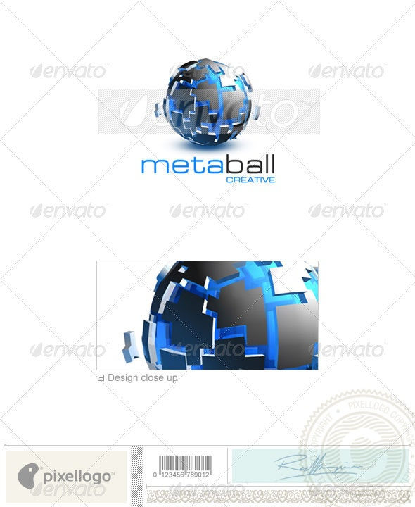 Technology Logo - 3D-271 - 3d Abstract
