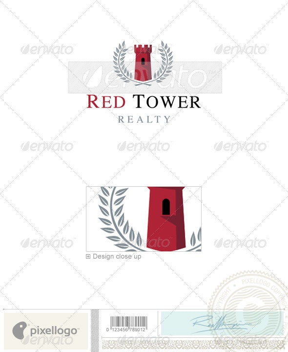 Home & Office Logo - 2122 - Buildings Logo Templates