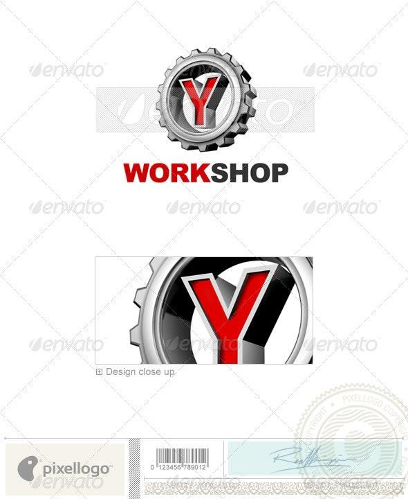 Y Logo - 3D-292-Y - Letters Logo Templates