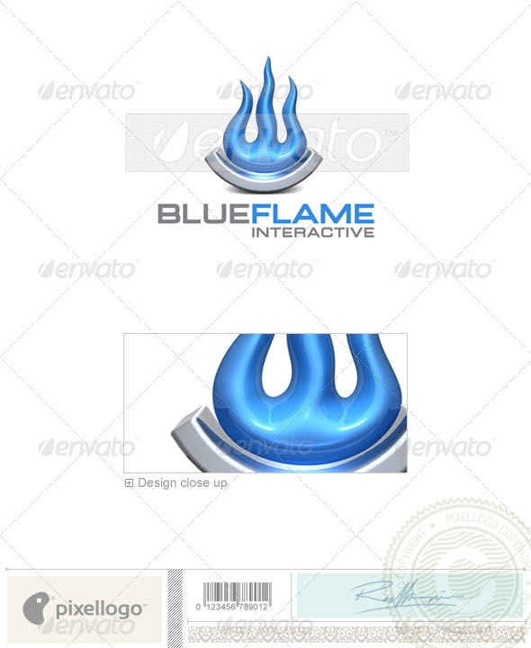 Industry & Science Logo - 3D-324 - 3d Abstract