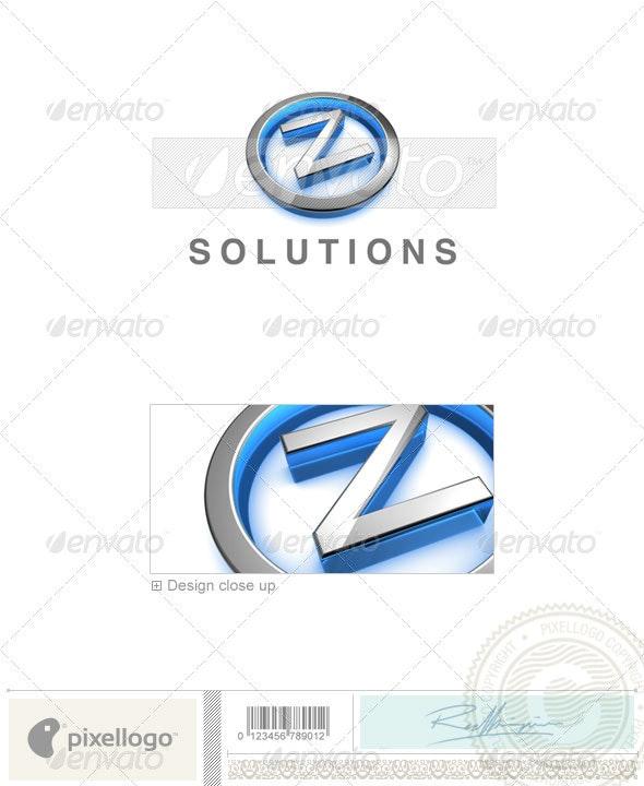 Z Logo - 3D-683-Z - Letters Logo Templates