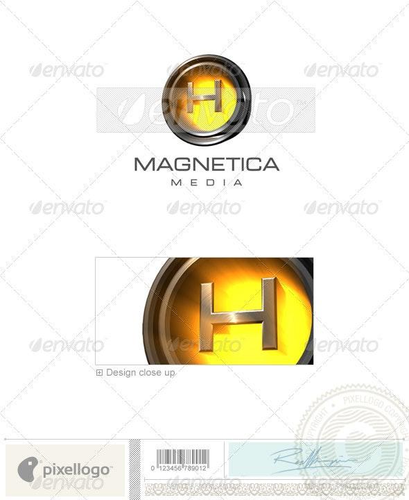 H Logo - 3D-238-H - Letters Logo Templates