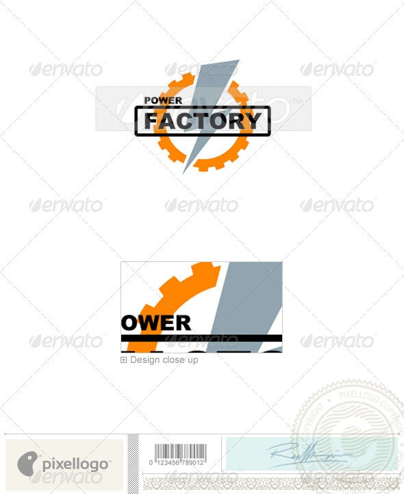 Industry & Science Logo - 347 - Objects Logo Templates