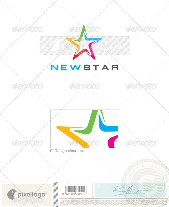 Business & Finance Logo - 477 - Vector Abstract