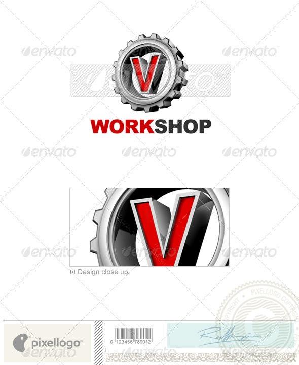 V Logo - 3D-292-V - Letters Logo Templates