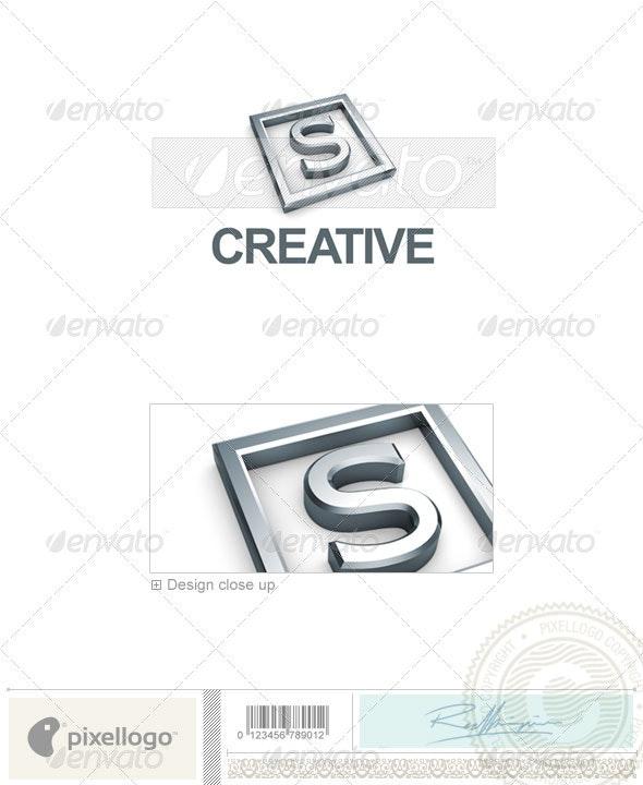 S Logo - 3D-295-S - Letters Logo Templates