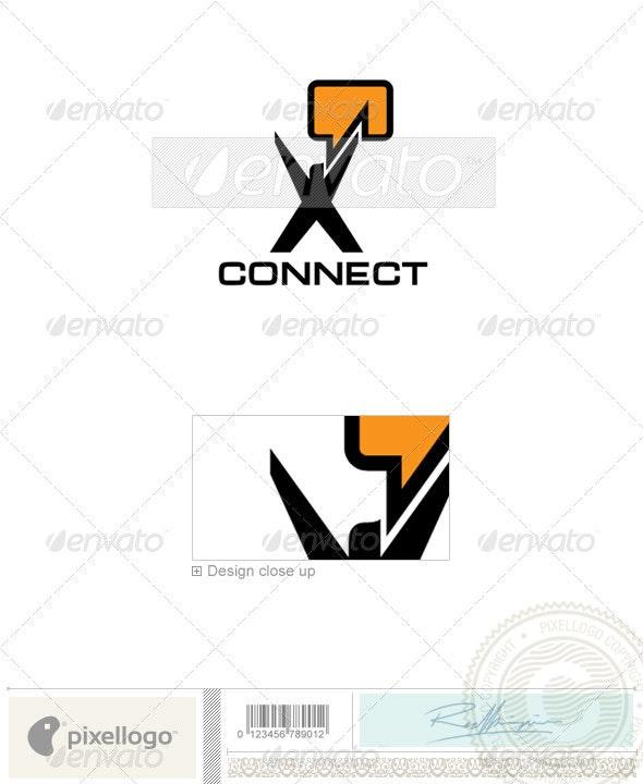 Communications Logo - 979 - Humans Logo Templates