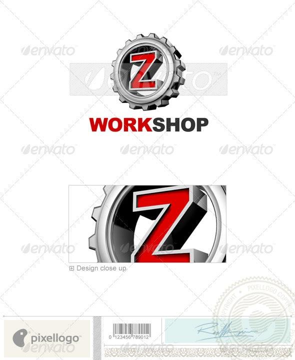 Z Logo - 3D-292-Z - Letters Logo Templates