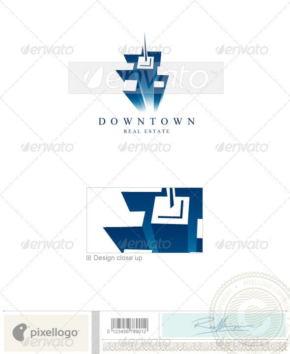 Home & Office Logo - 1188 - Buildings Logo Templates