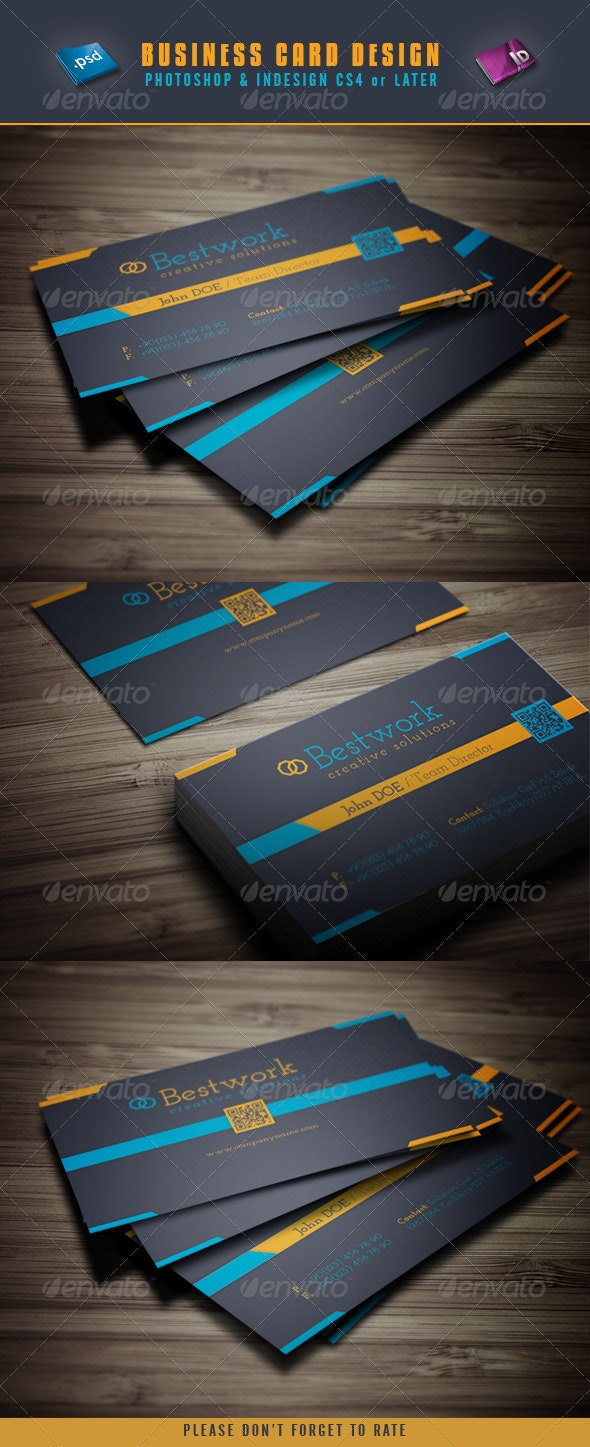 Business Card Desing - Corporate Business Cards