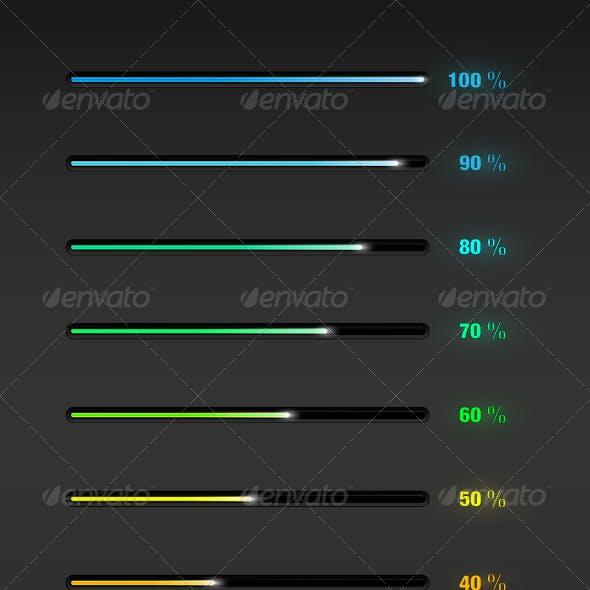 Percent Progress Bar