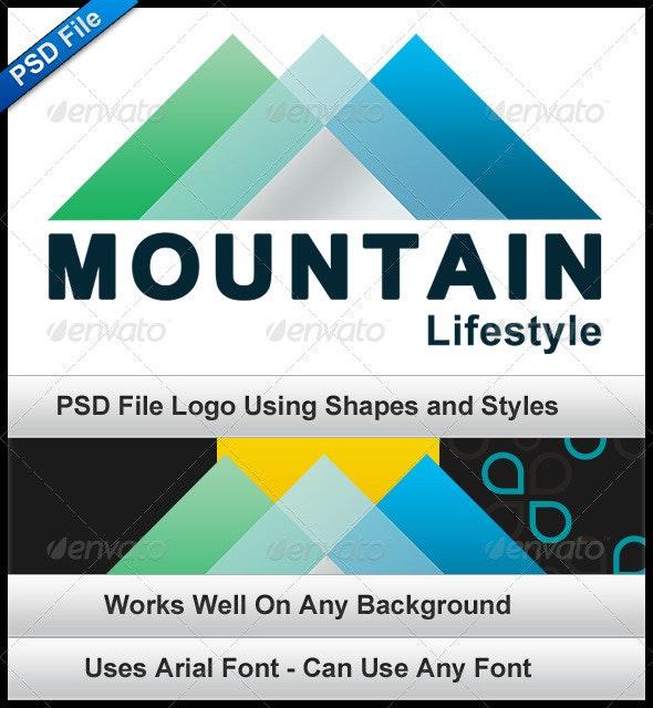 Mountain Lifestyle - Geometric - Nature Logo Templates