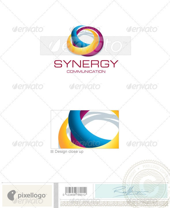 Communications Logo - 1800 - Vector Abstract
