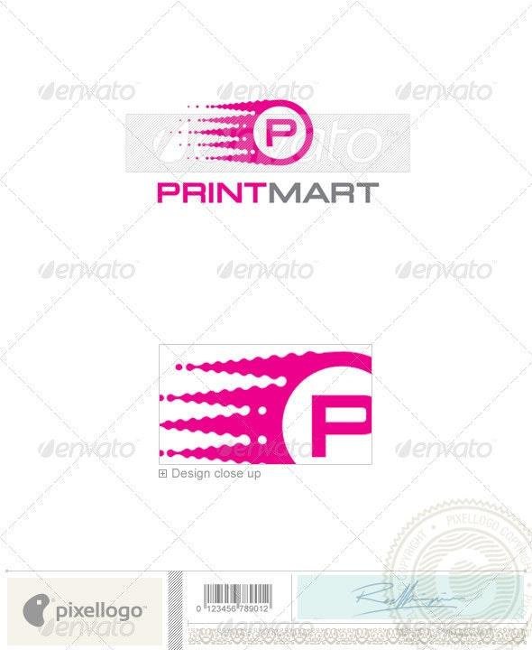 Print & Design Logo - 1786 - Vector Abstract