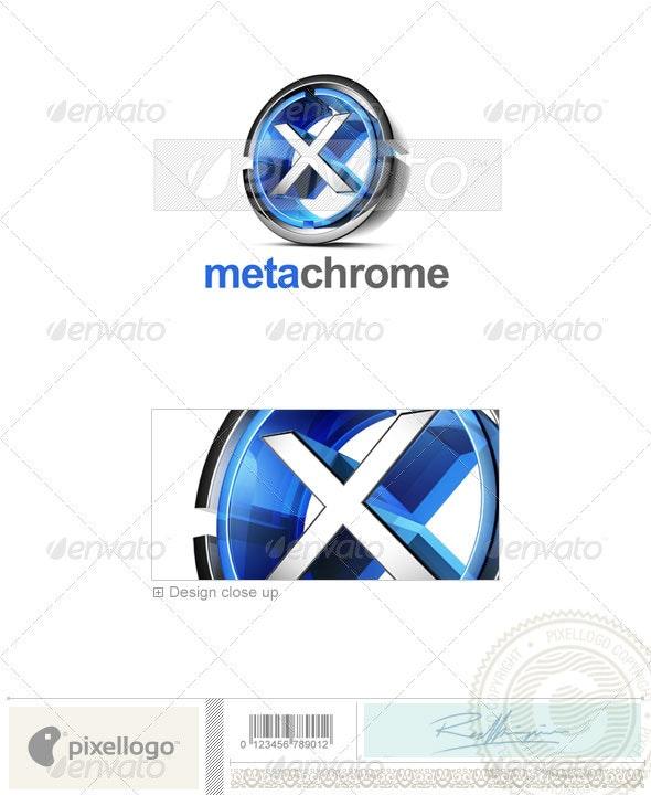 X Logo - 3D-476-X - Letters Logo Templates