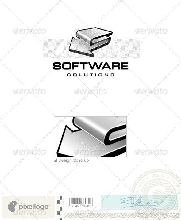 Technology Logo - 198 - Vector Abstract