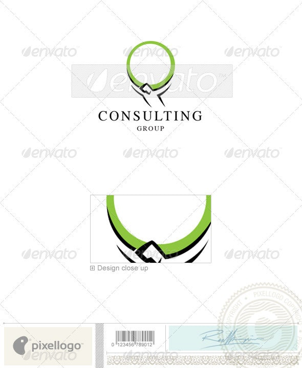 Business & Finance Logo - 692 - Vector Abstract