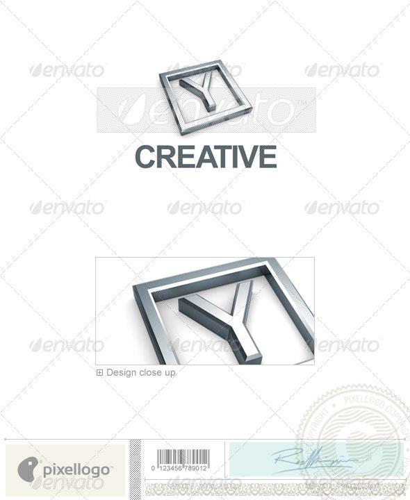 Y Logo - 3D-295-Y - Letters Logo Templates