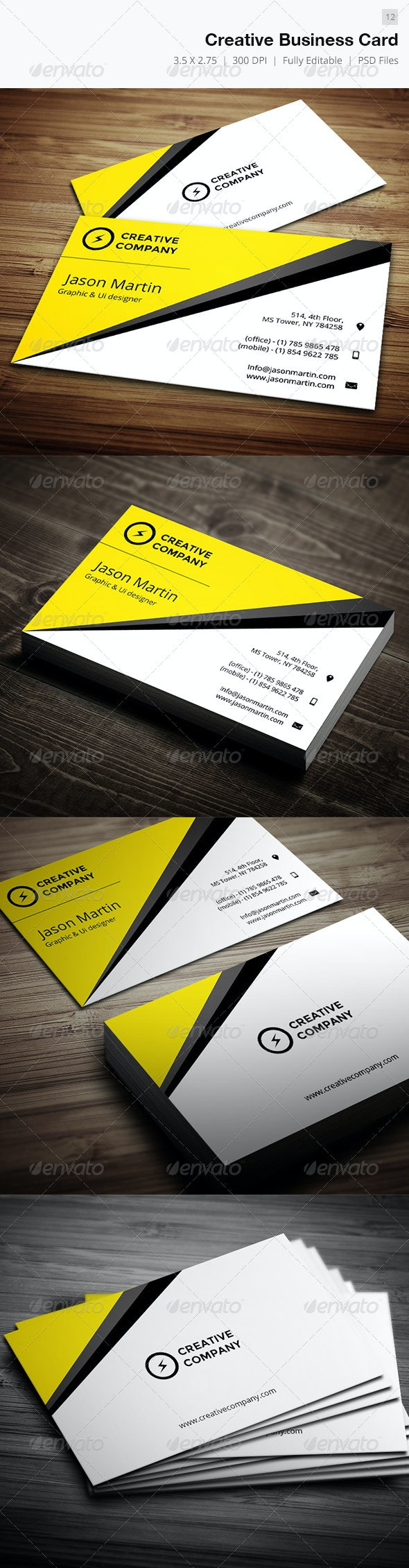 Creative Business Card - 12 - Creative Business Cards