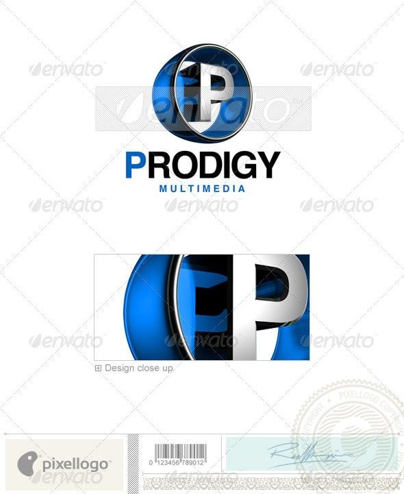P Logo - 3D-438-P - Letters Logo Templates