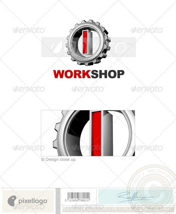I Logo - 3D-292-I - Letters Logo Templates