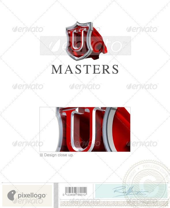 U Logo - 3D-259-U - Letters Logo Templates
