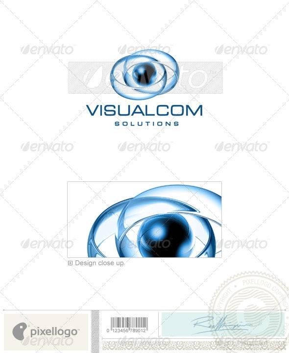 Communications Logo - 3D-418 - 3d Abstract