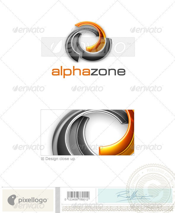Technology Logo - 3D-488 - 3d Abstract