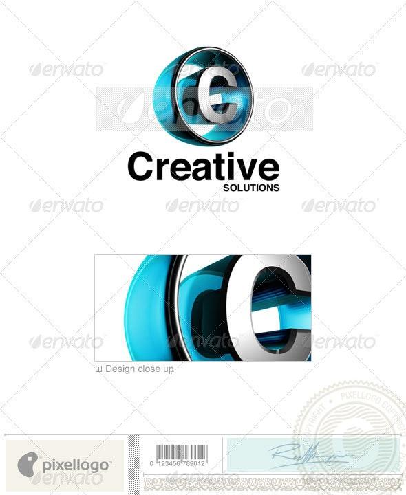 C Logo - 3D-438-C - Letters Logo Templates