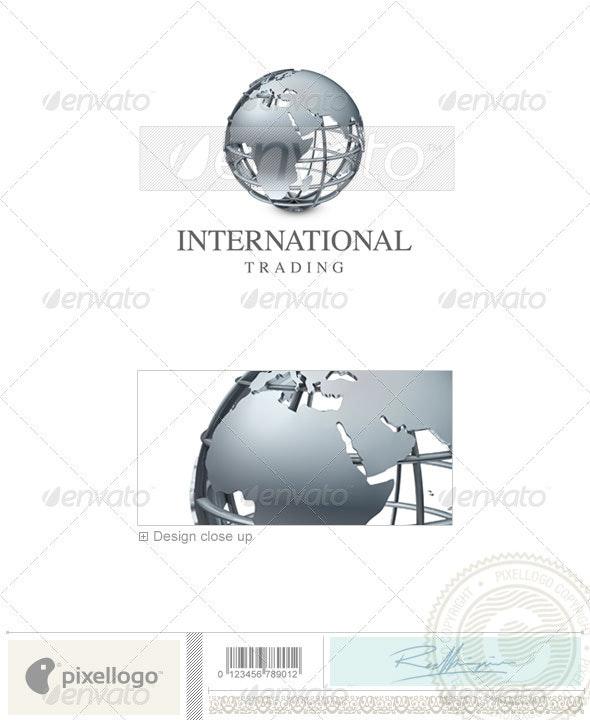 Communications Logo - 3D-43 - 3d Abstract