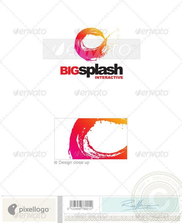 Print & Design Logo - 2093 - Vector Abstract